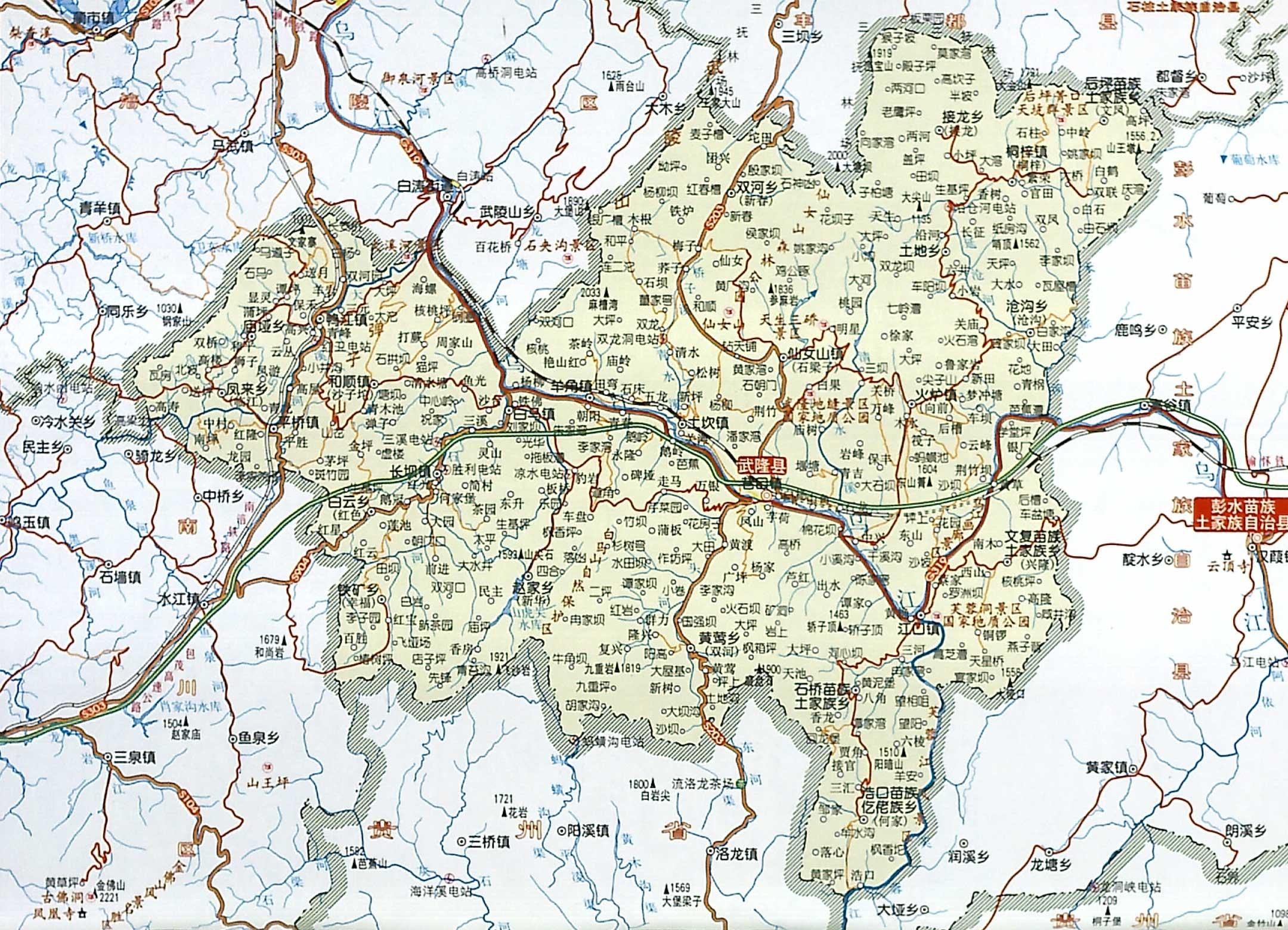 唐朝地图高清版唐朝地图