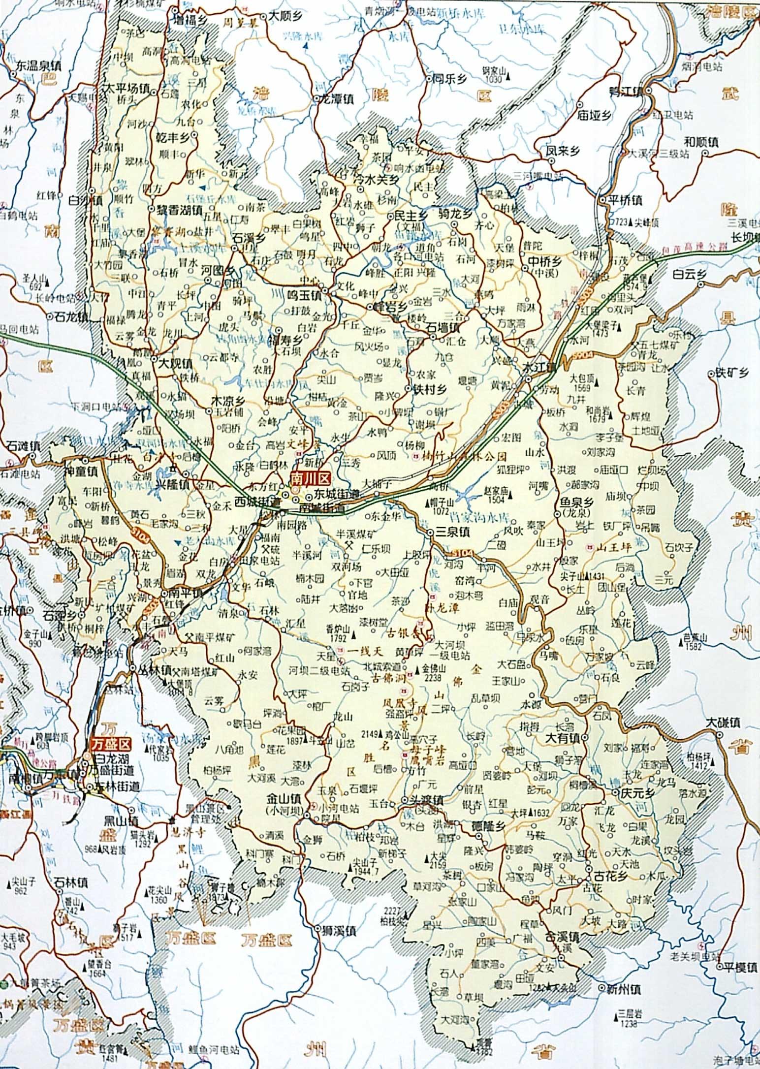 龙岩市风景小区地图